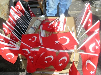 Flags in Turkey