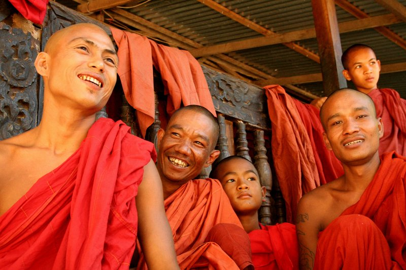 Hanging with Monks