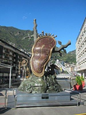 Dali at Andorra La Vella