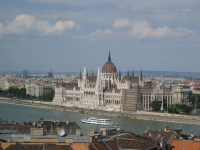 Budapest parlament house