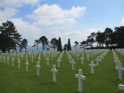 US graveyard Normandy