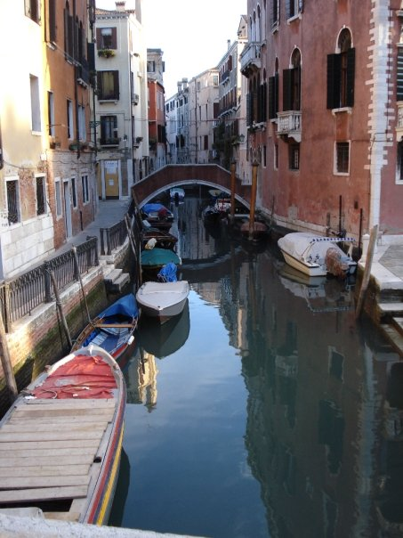 Venice canal crossing