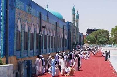 Blue Mosque Mazar - e - Sharif