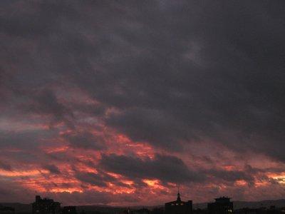 Oslo Skyline at dusk