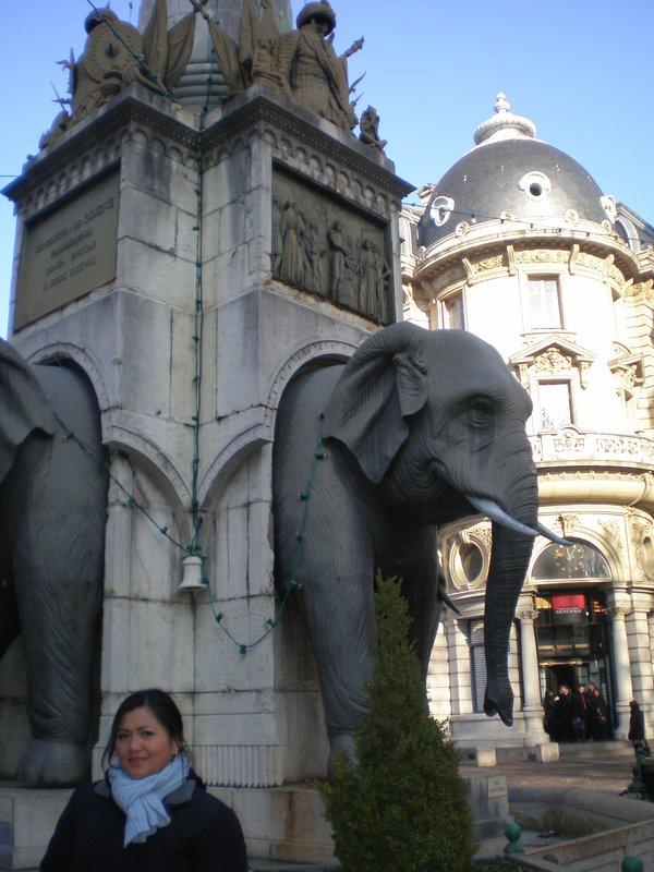 Fontaine des Eléphants Chambéry