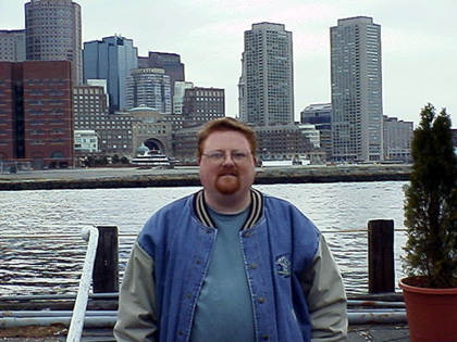 On the Docks in Boston