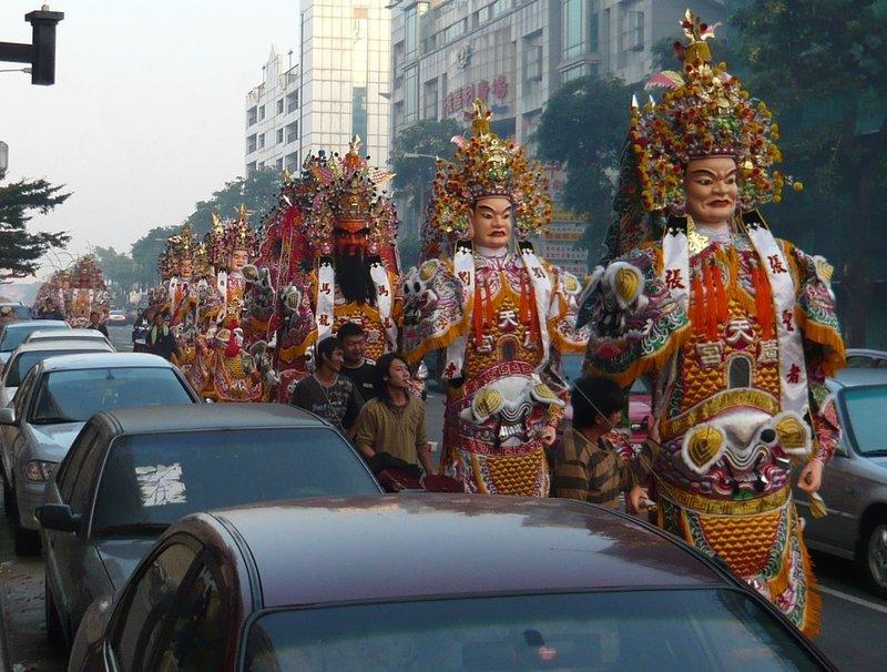 Taichung parade 1