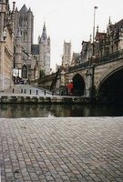 The three towers of Ghent