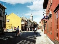 Røros, main street