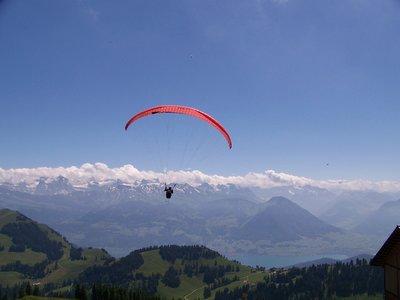 Mt Rigi Parasailing