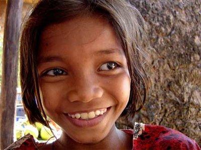 Khmer girl, Siem Reap