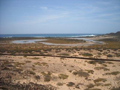 Los Lobos lagune