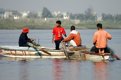 Nile fishermen