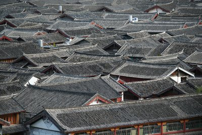 Roofs of Lijiang