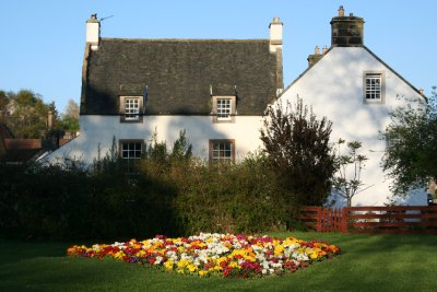 Typical Scottish Cottage in Culross