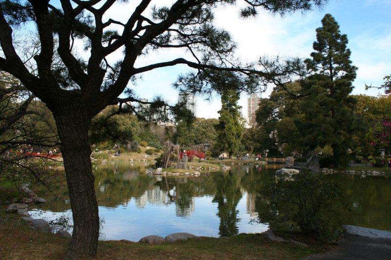 Jardin Japones in the Palermo Quarter