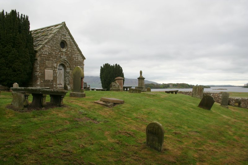 View to Lochleven Castle