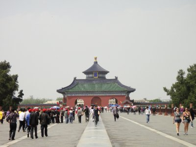 Nearing the Hall of Prayer for Harvest, Temple of Heaven