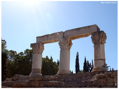 Ancient Corinth - Temple of Octavia