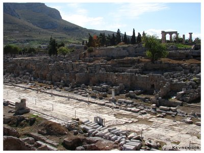 Ancient Corinth - Lechaion Road