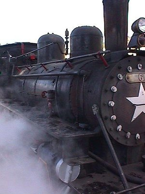 La Trochita Patagonia Express Steam Train