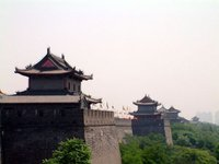 City walls of Xian