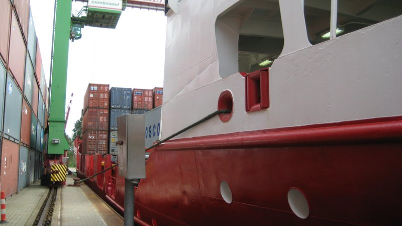 Lubeck: Container Terminal