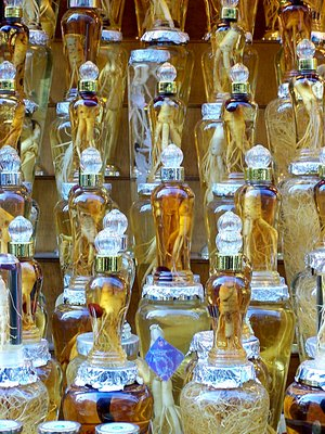 Jars of Ginseng