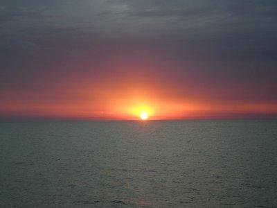 Sunset on the Rio Plata