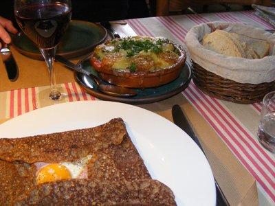 Rural Dining in Burgundy