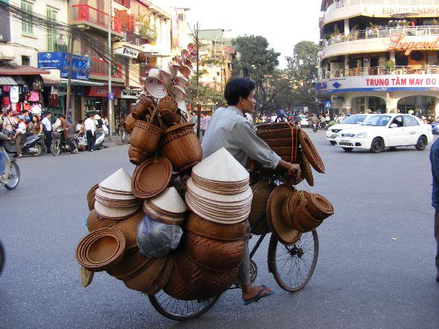 Hanoi - Hat Seller