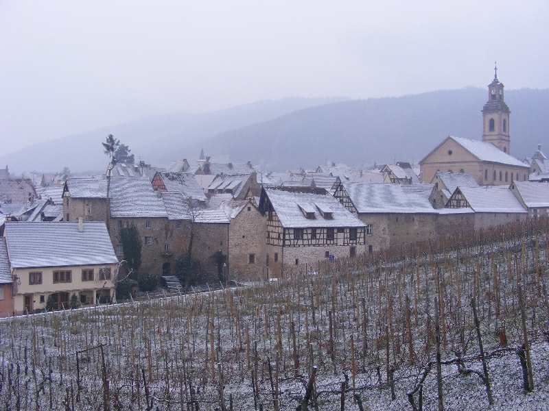 Riquewihr in Snow