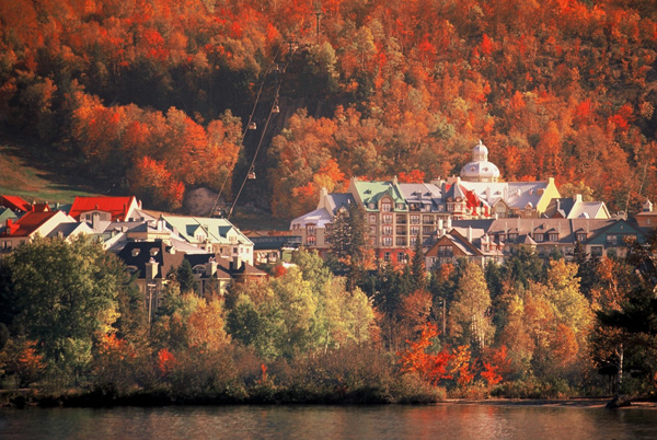 Fall in the Laurentians