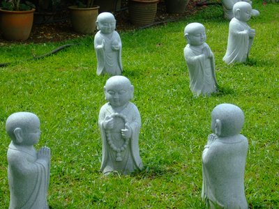 Lawn of Buddhas