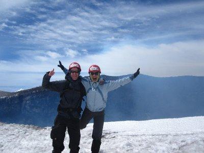Das Gipfelfoto auf 2853m!