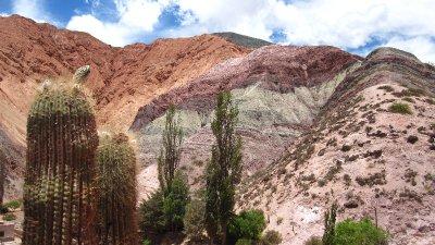Cerro de Siete Colores bei Purmamarca