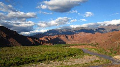 Die wunderschoene Quebrada de Cafayate