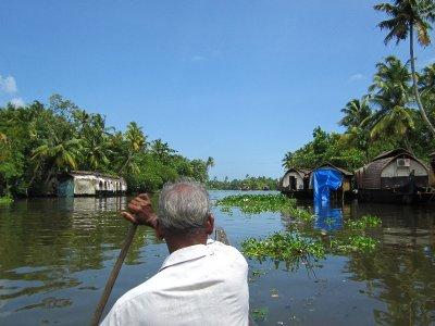 Unterwegs in den Backwaters