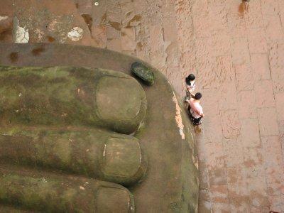 Riesen-Buddha von Leshan