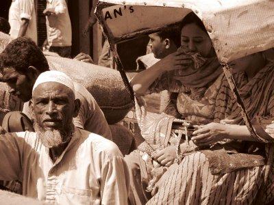 Unterwegs im Spice Market, Old Delhi