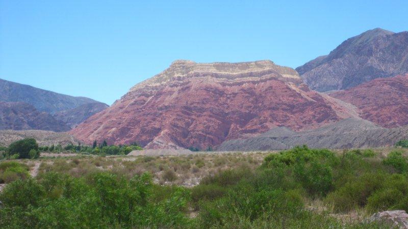 Cerro Yacoraite in der Quebrada de Humahuaca