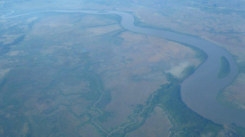 Costa Rica aus der Luft