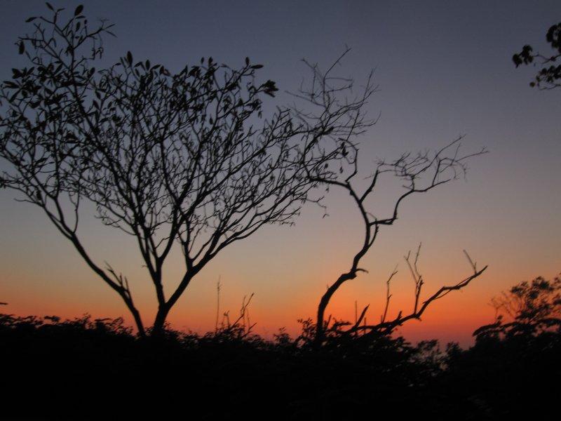 Nach Sonnenuntergang in Santa Teresa