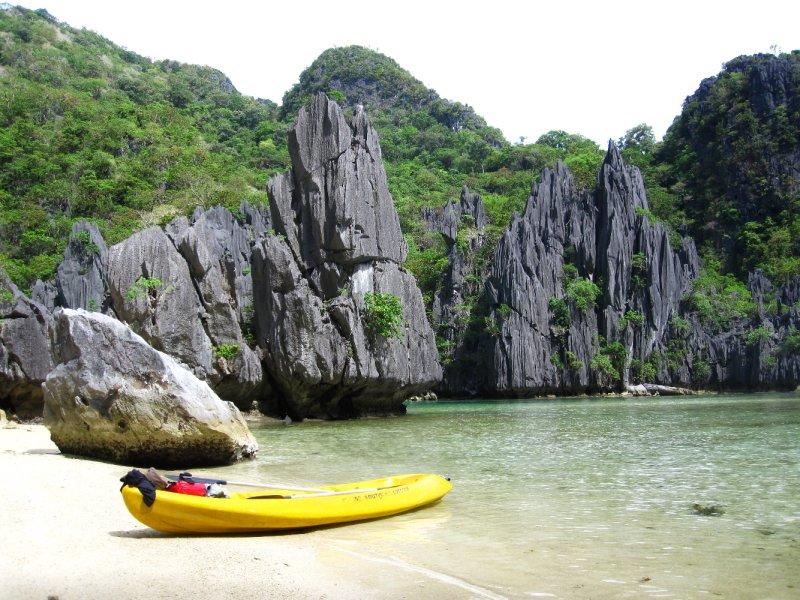Ubugon Lagoon auf Cadlao Island