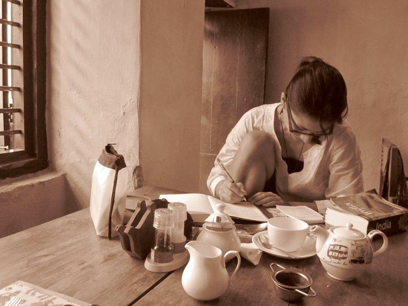 Routenplanung im Tea House