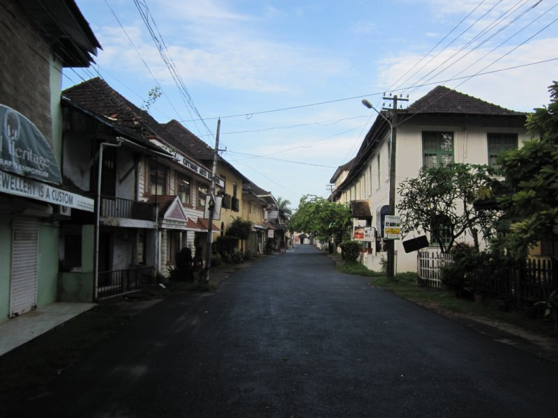 Princess Road in Fort Cochin