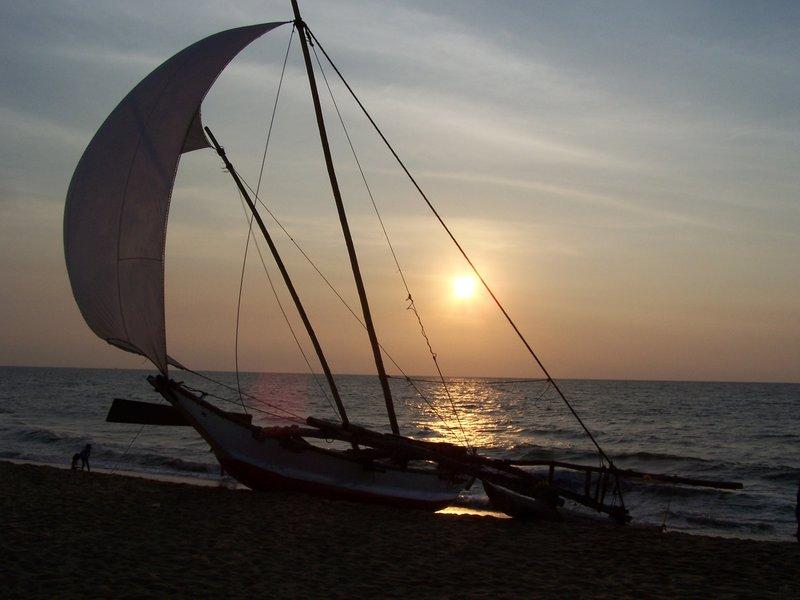 Sunset in Negombo