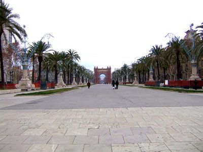 The Arc de Triomf (Barcelona, Catalonia, Spain)