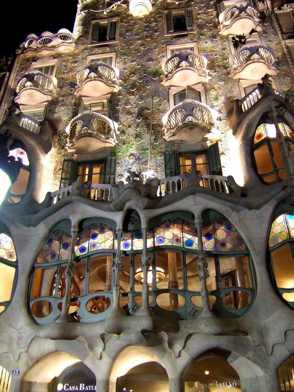 Casa Batlló (Barcelona, Catalonia, Spain)