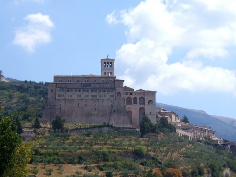 The Franciscan monastery Assisi (Umbria, Italy)